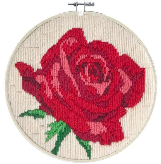 Rose Rouge Long Stitch Kit