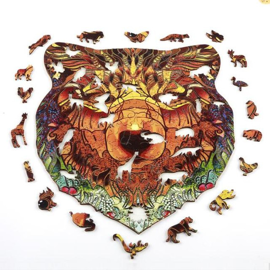 Bold Bear Wooden Puzzles