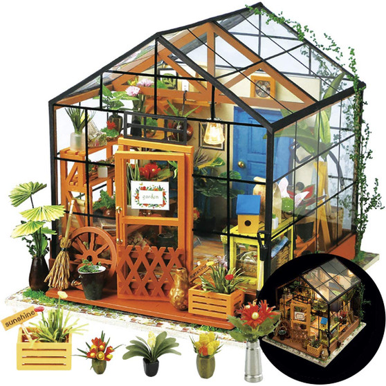 DIY Cathy's Flower House