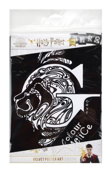 Hogwart Houses Harry Potter 4 pack Velvet Poster Art