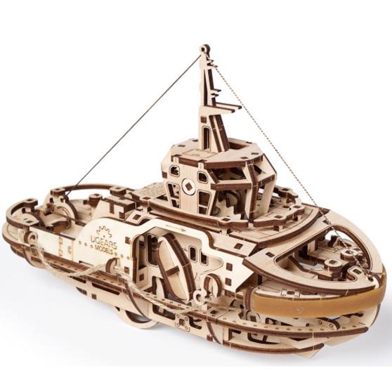 Ugears Tugboat Mechanical Model