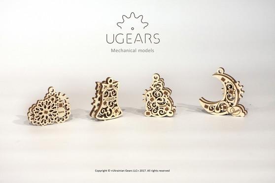 UGears U-Fidgets Gearsmas