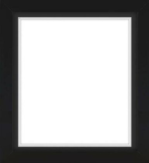 Black Wooden Frame With Mat BoardD DF4641