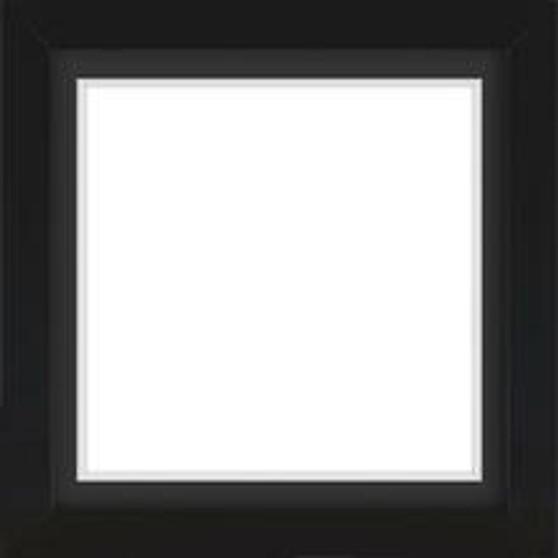 Black Wooden Frame With Mat Board DDF4964