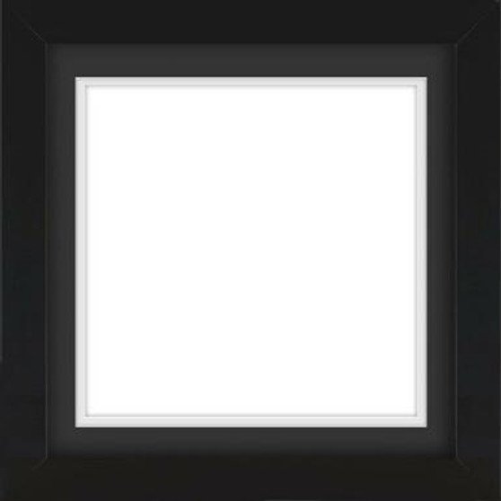 Black Wooden Frame With Mat Board DDF3939