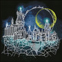 Moon Over Hogwarts Diamond Painting Kit