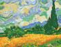 Wheat Fields (Van Gogh) Diamond Painting Kit