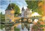 River Castle Pre-Framed Diamond Dotz® Square Diamond Painting Kit