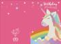 Personalised Birthday Unicorn Card