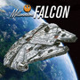 Millennium Falcon Diamond Painting Kit