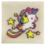 Unicorn Dreams Needle Punch Kit With Frame