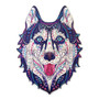 Naughty Husky Wooden Puzzles