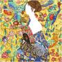 Lady with Fan (après Klimt) Diamond Dotz Diamond Painting Kit