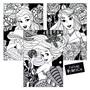 Arial, Bell, Aurora Disney 3 Pack Velvet Poster Art