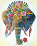 Bohemian Elephant Diamond Dotz Diamond Painting Kit