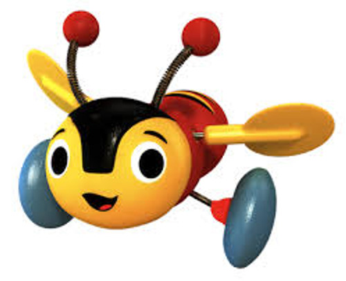 Buzzy Bee pull-along