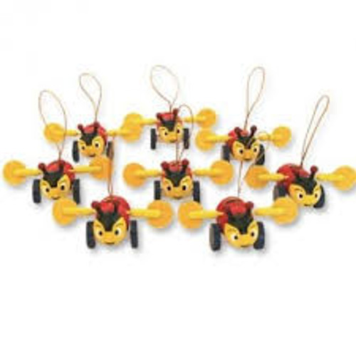 Buzzy Bee tree decorations