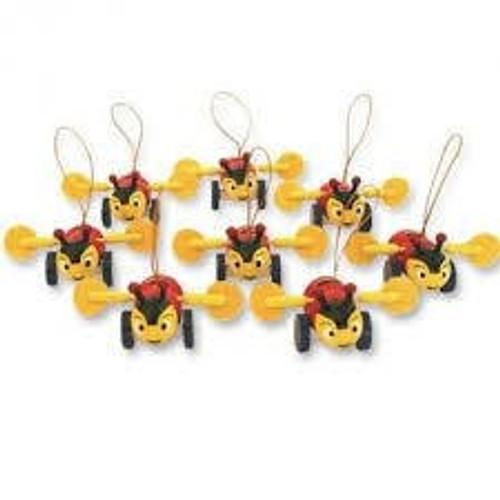 Buzzy Bee tree decorations