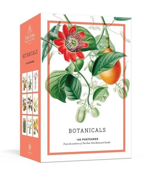 Botanicals: 100 postcards