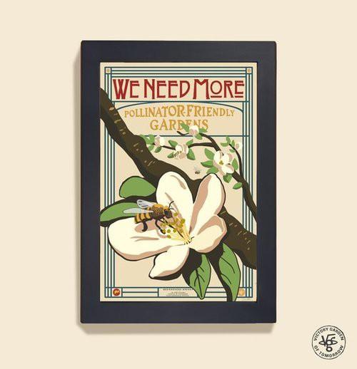 Poster. Pollinator Friendly Garden.