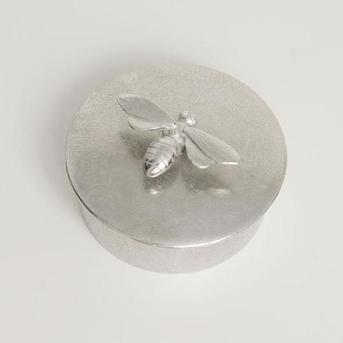 Pewter jewellery box medium
