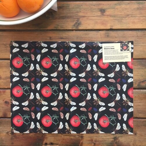 GC placemat tomato bee