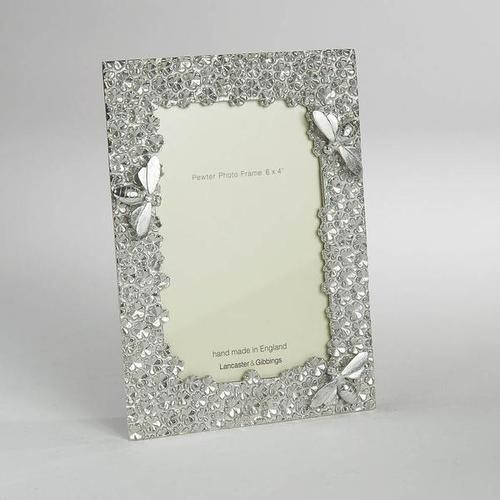 Pewter picture frame large