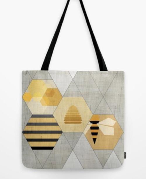 Tote beehive geometry