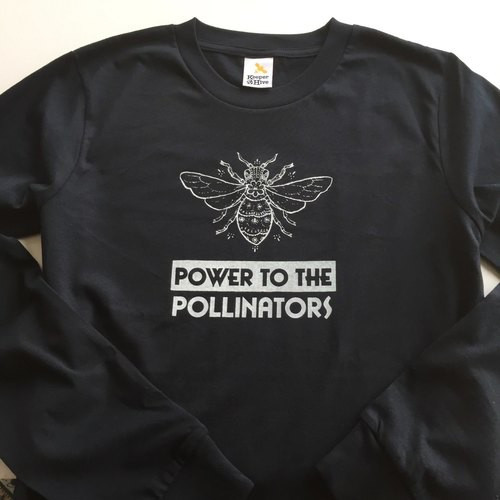 Power to the Pollinators long-sleeve t-shirt