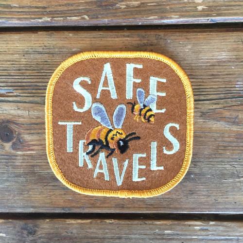 Felt Badge - Safe Travels