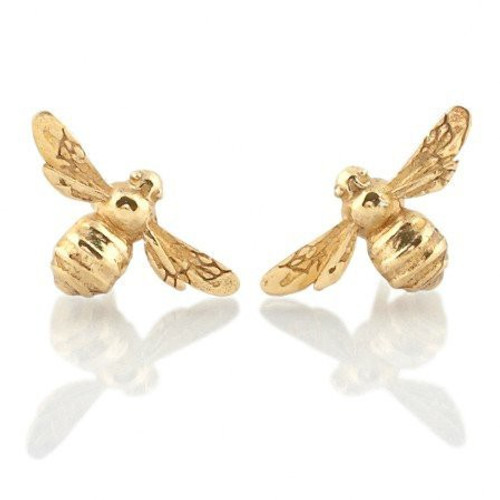 Bee Stud Earring Gold