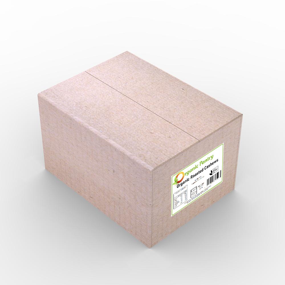 Organic Roasted Cashews 5kg