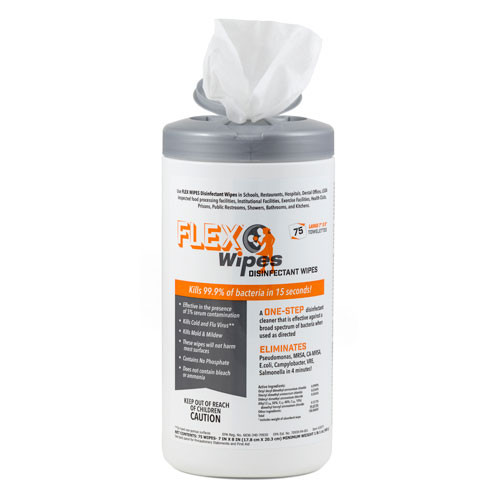 FLEX® Disinfectant Surface Wipes
