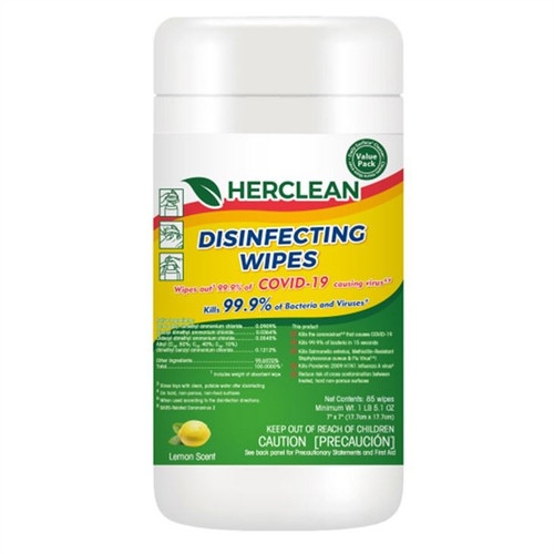 Herclean Disinfectant wipes