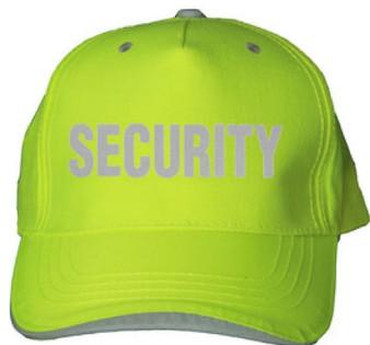 Reflective utility  baseball cap - Neocap -  Lime - Security