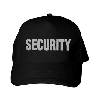 Reflective utility  Baseball Cap -  Security