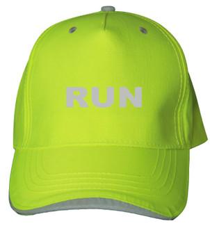 Reflective baseball cap -  Neocap - Run -  Lime