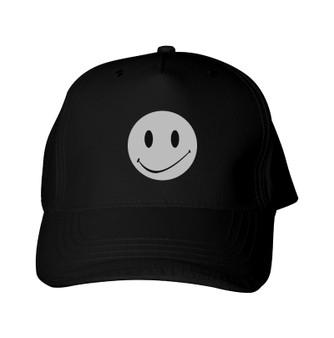 Reflective Baseball Cap - Happy Face - Full circle