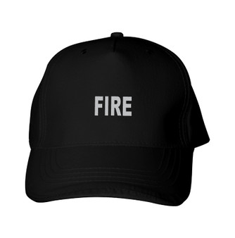 Reflective utility  Baseball Cap  -   Fire
