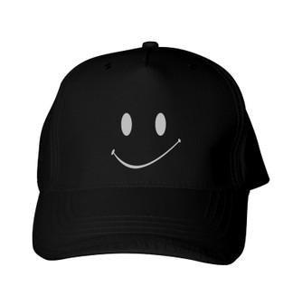 Reflective Baseball Cap  -  Happy Face