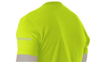 Sidegraph Reflective T-shirt -  Runner - Lime