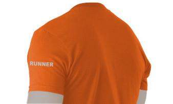 Sidegraph Reflective T-shirt -  Runner -  Orange