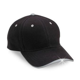 Reflective  black  cap  - Blank