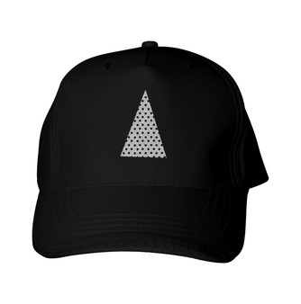 Glitter Baseball Cap -  GlitterPerf -   Triangle