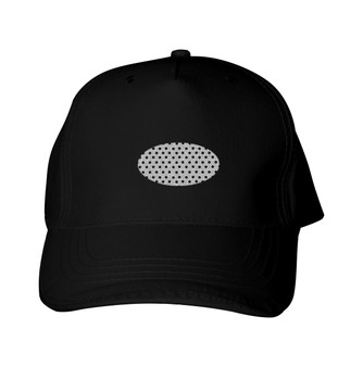 Glitter Baseball Cap -  GlitterPerf -   Oval