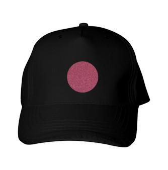 Glitter Baseball Cap -  GlitterRed - Circle