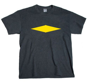 Diamond  Horizontal -  Yellow