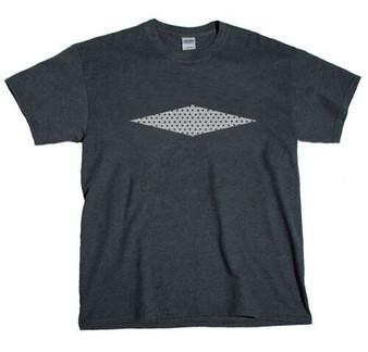 Diamond  Horizontal -  Perforated - Glitter