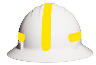 Americana Full Brim Mohawk Hard Hat -  Reflective Lime /  Yellow