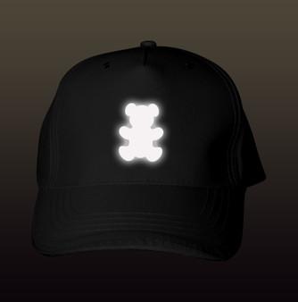 Reflective  Baseball Cap - Teddy Bear